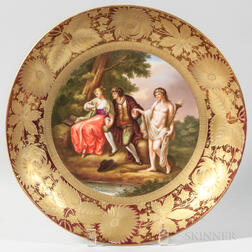 Royal Vienna Porcelain Deep Dish
