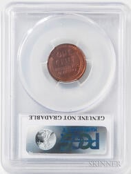 1955 Doubled Die Obverse Lincoln Cent, PCGS AU Details, Cleaned.     Estimate $800-1,200