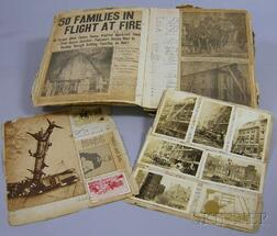 Early 20th Century Firefighter's Scrap/Logbook