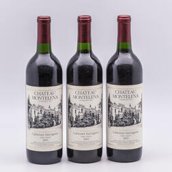 Chateau Montelena Estate 1991, 3 bottles
