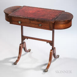 Regency Inlaid Reading Table