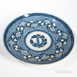Large Blue and White Export Charger