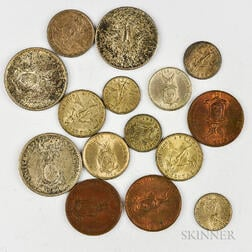 Small Group of Foreign Coins