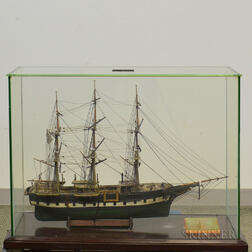 Cased Ship Model of the Charles W. Morgan