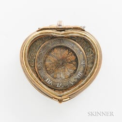 Early Heart-shaped Pendant Watch