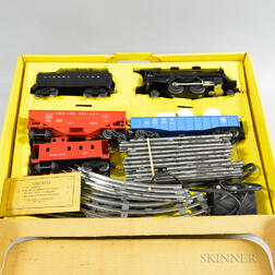 Boxed Lionel Trains No. 1609 Steam Type Freight Set.     Estimate $100-150