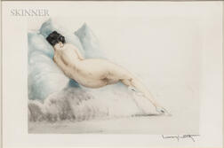 Louis Icart (French, 1888-1950)      Boudeuse