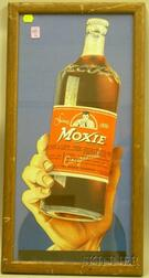 Moxie Chromolithograph Die-cut Advertising Display Stand-up