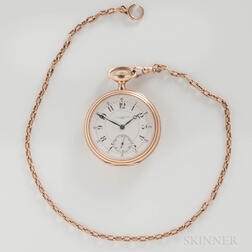 C.A.W. Crosby & Son 14kt Gold Open-face Watch