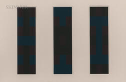 Ad Reinhardt (American, 1913-1967)      Plates 2, 3, and 4