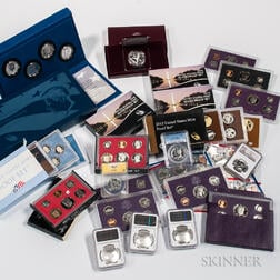 Group of American Commemorative Coins and Mint and Proof Sets