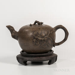 Gray Yixing Teapot