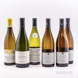 Mixed White Burgundies, 6 bottles