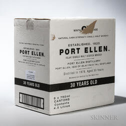 Port Ellen 30 Years Old, 6 750ml bottles (oc)