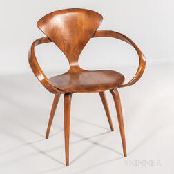 Norman Cherner for Plycraft Pretzel Chair