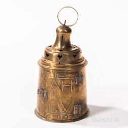 Early Brass Lantern
