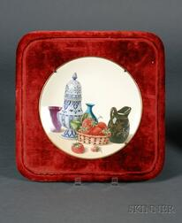 Mintons Hand Painted Plate