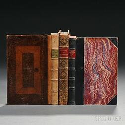 English Literature, Sammelband of Tracts, and Two Others, 18th Century.