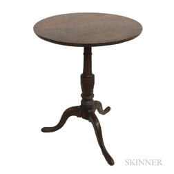 Georgian Oak Tilt-top Tea Table