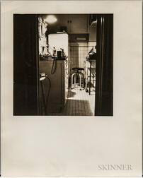 Walker Evans (American, 1903-1975)       Kitchen Used as a Lab, New York