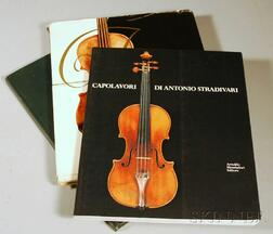 Three Volumes of Violin-related Subjects