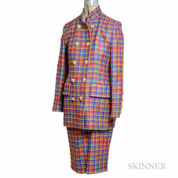 Givenchy Multicolored Wool Suit