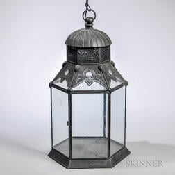 Moroccan Inspired Hanging Lamp