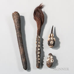 Four Congo Fetish Objects