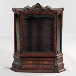 Inlaid Mahogany Table Cabinet