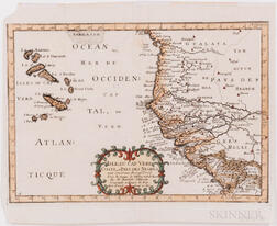 Cape Verde. Seven Engraved Maps, c. 1660-1780.