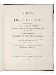 Webber, John (1751-1793) Views in the South Seas, from Drawings by the late James Webber, Draftsman on Board the Resolution, Captain Ja
