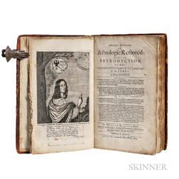 Ramesey, William (1627-1675) Astrologia Restaurata; or Astrologie Restored: Being an Introduction to the General and Chief Part of the