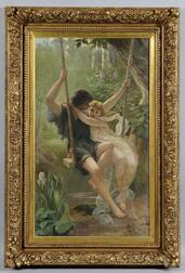 After Pierre-Auguste Cot (French, 1837-1883)    Springtime