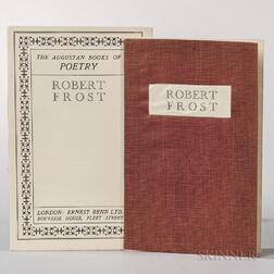 Frost, Robert (1874-1963) The Augustan Books of Poetry  , Two Copies.
