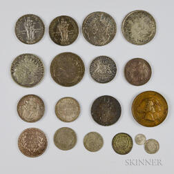 Group of Bavarian Coins and Medals