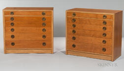 Two Dunbar Chests of Drawers
