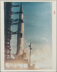 Apollo 8, Liftoff, December 21, 1968.