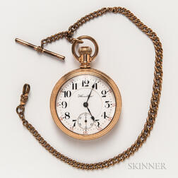 Hamilton Gold-plated Pocket Watch
