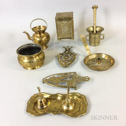 Eleven Brass Items