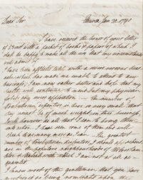 Josiah Wedgwood I Letter Dated 1790