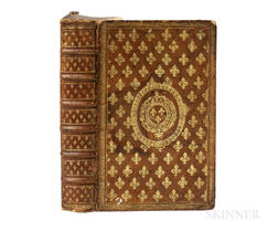 Cellot, Louis (1588-1658) De Hierarchia et Hierarchis Libri IX.  , in a Jesuit Prize Binding Dated 1666.