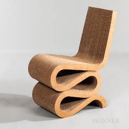 "Frank Gehry for Vitra ""Wiggle"" Chair"