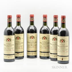 Chateau Malescot St. Exupery 1978, 6 bottles