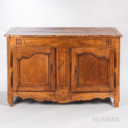 Louis XV-style Provincial Cabinet