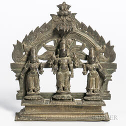 Bronze Shrine of Vishnu