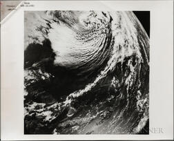 Apollo 8, Earth Views, December 1968, Three Slides and One Print.