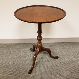 Georgian-style Mahogany Tilt-top Tea Table