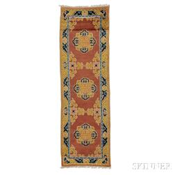 Chinese Temple Long Rug