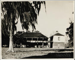 Walker Evans (American, 1903-1975)       Ormond Plantation House, St. Charles Parish, Louisiana