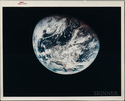 Apollo 8, Earth View, December 1968, Photograph of the Earth.